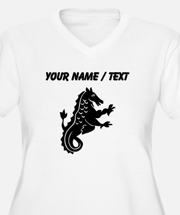 Custom Medieval Dragon With Scales Plus Size T-Shi