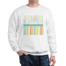 Softie Party Stripe Sweatshirt