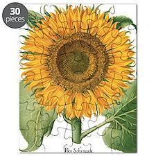 Vintage Sunflower Basilius Besler Puzzle