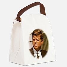 John F. Kennedy Canvas Lunch Bag