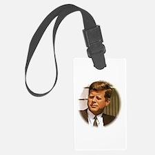 John F. Kennedy Luggage Tag
