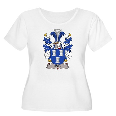 Holk Family Crest Plus Size T-Shirt