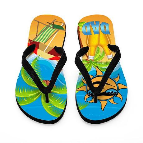 Beach Dad Flip Flops