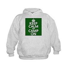 Keep Calm and Camp On Hoody