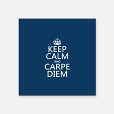 Keep Calm and Carpe Diem Sticker