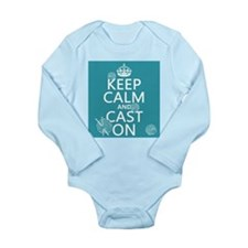 Keep Calm and Cast On Body Suit
