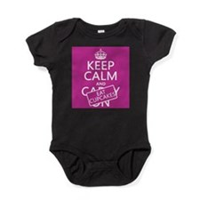 Keep Calm and Eat Cupcakes Baby Bodysuit