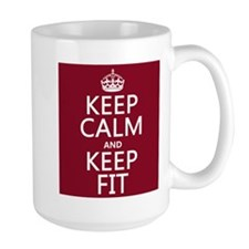 Keep Calm and Keep Fit Mugs