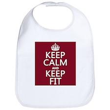 Keep Calm and Keep Fit Bib