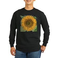 Vintage Sunflower Basiliu T