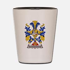 Mannerheim Family Crest Shot Glass
