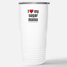 """Love My Sugar Mama"" Stainless Steel Travel Mug"