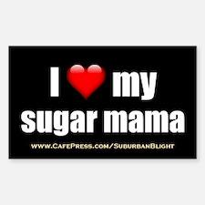 """""""Love My Sugar Mama"""" Decal"""