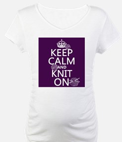 Keep Calm and Knit On Shirt