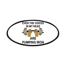 Voices Are Pumping Iron Patches