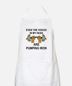 Voices Are Pumping Iron Apron