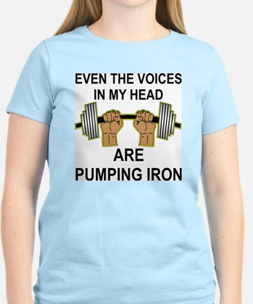 Voices Are Pumping Iron T-Shirt