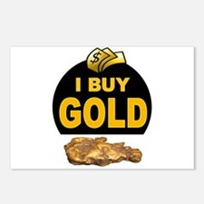 GOLD BUYER Postcards (Package of 8)