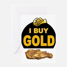 GOLD BUYER Greeting Cards