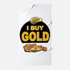 GOLD BUYER Beach Towel