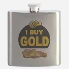 GOLD BUYER Flask