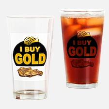GOLD BUYER Drinking Glass