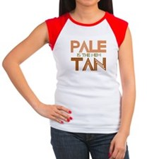 PALE IS THE NEW TAN SHIRT T-S Women's Cap Sleeve T