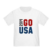 Go USA 2014 T-Shirt