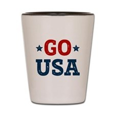 Go USA Shot Glass