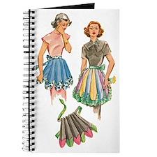 1950's Apron Pattern Design Journal