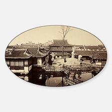 City God Temple Shanghai Decal