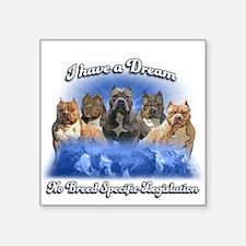 I Have A Dream No BSL Sticker