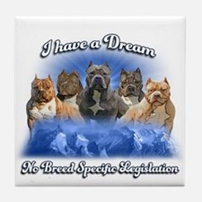 I Have A Dream No BSL Tile Coaster