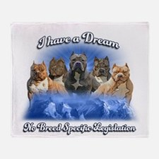 I Have A Dream No BSL Throw Blanket