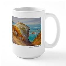 Rocks at Point Lobos Mug