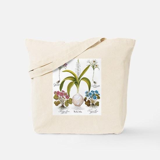 Vintage Flowers by Basilius Besler Tote Bag
