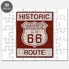 Shamrock Texas Route 66 Puzzle
