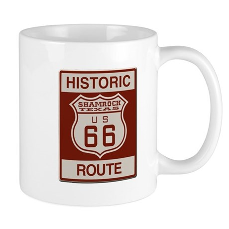 Shamrock Texas Route 66 Mugs