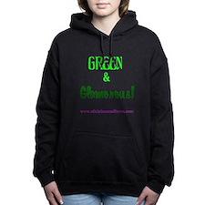 Green Glamorous Hooded Sweatshirt