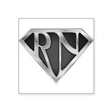 Super RN - Metal Rectangle Sticker