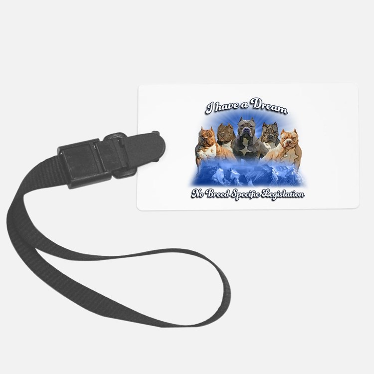 I Have A Dream No BSL Luggage Tag