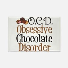 Cute Chocolate Rectangle Magnet (10 pack)