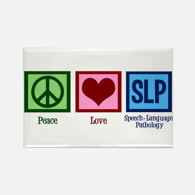 Speech-Language Pathol Rectangle Magnet (100 pack)