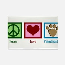 Cute Veterinarian Rectangle Magnet (10 pack)