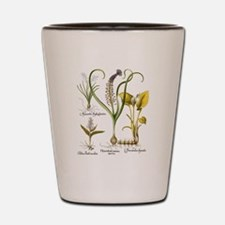 Vintage Flowers by Basilius Besler Shot Glass