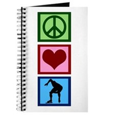 Peace Love Speed Skating Journal