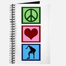 Peace Love Speed Skating Journal