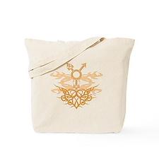 Transgender Tribal Heart Tote Bag