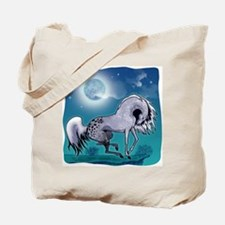 Appaloosa Horse by Moonlight Tote Bag