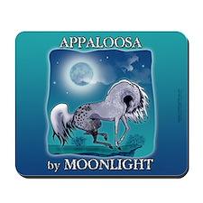 Appaloosa Horse by Moonlight Mousepad